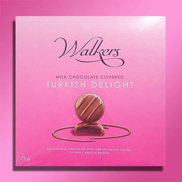 WALKERS CHOC COVERED TURKISH DELIGHT